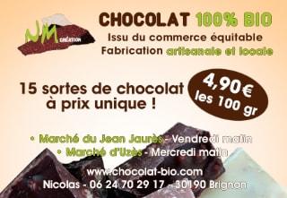chocolat bio nîmes