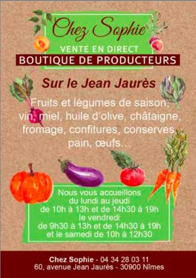 fruits et légumes de saison nîmes