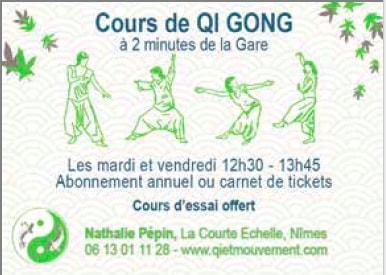 cours de qi gong